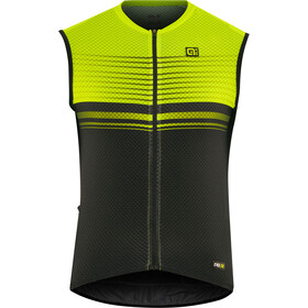 Alé Cycling Graphics PRR Slide Sleeveless Jersey Herre black flou yellow
